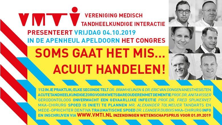 VMTI presenteert SOMS GAAT HET MIS… ACUUT HANDELEN!