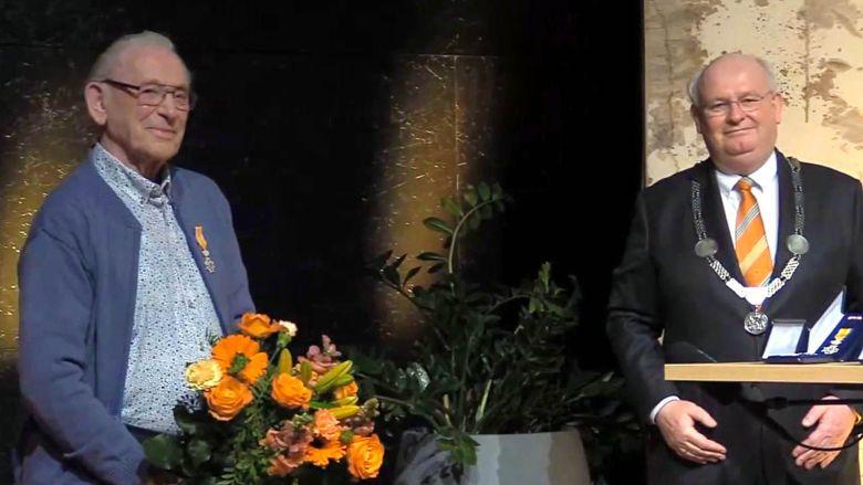DHIN-vrijwilliger Wolter Klijn Velderman koninklijk onderscheiden
